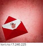 Composite image of love letter. Стоковое фото, агентство Wavebreak Media / Фотобанк Лори
