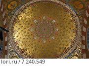Свод храма (2012 год). Стоковое фото, фотограф Евгений Рыжков / Фотобанк Лори