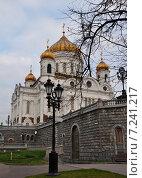 Храм Христа Спасителя (2012 год). Стоковое фото, фотограф Светлана Хромова / Фотобанк Лори