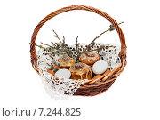 Купить «Пасхальная композиция», фото № 7244825, снято 11 апреля 2015 г. (c) Наталья Осипова / Фотобанк Лори