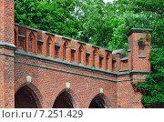 Купить «Росгартенские ворота – форт Кёнигсберга. Калининград (до 1946 года Кёнигсберг), Россия», фото № 7251429, снято 12 июня 2014 г. (c) Сергей Трофименко / Фотобанк Лори