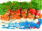Детский рисунок. Отражение, иллюстрация № 7252729 (c) Валерия Попова / Фотобанк Лори