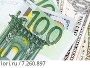 Купить «Деньги Европы и Америки. Международная валюта», фото № 7260897, снято 15 апреля 2015 г. (c) Момотюк Сергей / Фотобанк Лори