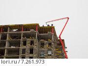 Строительство здания. Стоковое фото, фотограф Андрей Губецков / Фотобанк Лори