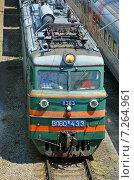 Купить «Грузовой магистральный электровоз ВЛ60», фото № 7264961, снято 22 июля 2013 г. (c) Александр Замараев / Фотобанк Лори
