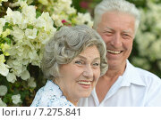 Happy senior couple. Стоковое фото, фотограф Ruslan Huzau / Фотобанк Лори