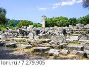 Купить «Археологические раскопки, Олимпия, Греция», фото № 7279905, снято 13 июня 2014 г. (c) Papoyan Irina / Фотобанк Лори