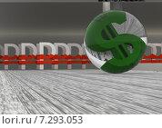 Купить «Боулинг валютных символов крупно», иллюстрация № 7293053 (c) Дмитрий Боков / Фотобанк Лори