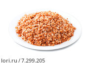 Купить «buckwheat porridge in plate», фото № 7299205, снято 18 ноября 2012 г. (c) Яков Филимонов / Фотобанк Лори