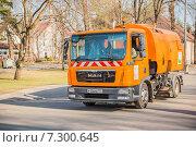 Уборочная машина на ВДНХ (2015 год). Редакционное фото, фотограф Владимир Князев / Фотобанк Лори
