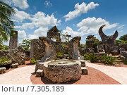 Коралловый замок к северу от города ХОМСТЕД, Флорида (2014 год). Стоковое фото, фотограф Борис Ветшев / Фотобанк Лори