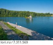 Алтай. Озеро Ая (2009 год). Стоковое фото, фотограф Alexander Zholobov / Фотобанк Лори