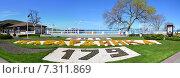 Купить «Архитектура набережной курорта Кабардинка.Краснодарский край.», фото № 7311869, снято 20 июня 2019 г. (c) Игорь Архипов / Фотобанк Лори