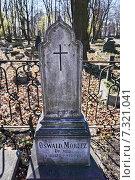Купить «Старинное Лютеранское кладбище», фото № 7321041, снято 25 апреля 2015 г. (c) Sashenkov89 / Фотобанк Лори