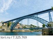 Купить «Dom Luis bridge in Porto, Portugal», фото № 7325769, снято 8 октября 2012 г. (c) Elnur / Фотобанк Лори