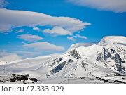 Купить «Beautiful snow-capped mountains», фото № 7333929, снято 21 октября 2008 г. (c) Goinyk Volodymyr / Фотобанк Лори