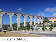 Portugal,Lisbon, the aqueduct Das Aguas Livres - PortugalPortugal, Lisbon, the aqueduct Das Aguas Livres. Стоковое фото, агентство BE&W Photo / Фотобанк Лори