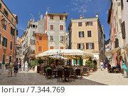 Croatia, Istria, Rovinj, Rovinj old town. Редакционное фото, агентство BE&W Photo / Фотобанк Лори