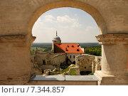 Купить «Poland, Janowiec, The Castle», фото № 7344857, снято 22 апреля 2019 г. (c) BE&W Photo / Фотобанк Лори