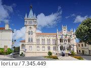 Купить «Portugal, Sintra, the city hall - PortugalPortugal, Sintra, the city hall», фото № 7345449, снято 19 марта 2019 г. (c) BE&W Photo / Фотобанк Лори