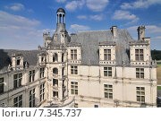 Купить «Chateau de Chambord royal medieval french castle. Loire Valley France Europe. Unesco heritage site.», фото № 7345737, снято 15 августа 2018 г. (c) BE&W Photo / Фотобанк Лори