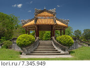Vietnam, Hue, Dien Can Thanh, Imperial City, The Purple Forbidden City - Hue, Vietnam. Стоковое фото, агентство BE&W Photo / Фотобанк Лори