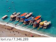 Купить «Turkey Blue Lagoon in Oludeniz Turkey CWO_0174Turkey, Olu Deniz, Blue lagoon», фото № 7346289, снято 16 декабря 2019 г. (c) BE&W Photo / Фотобанк Лори
