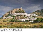White Village of Zahara de la Sierra Cádiz Andalusia Spain. Стоковое фото, агентство BE&W Photo / Фотобанк Лори
