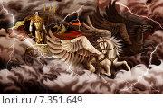 Купить «Перун», иллюстрация № 7351649 (c) Вера Тетерина / Фотобанк Лори