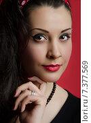 Портрет девушки. Стоковое фото, фотограф Эллина Туровская / Фотобанк Лори