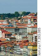 Купить «Scenic view of Porto city», фото № 7393085, снято 8 октября 2012 г. (c) Elnur / Фотобанк Лори