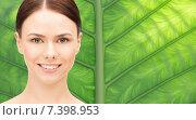 Купить «beautiful young woman face», фото № 7398953, снято 2 апреля 2011 г. (c) Syda Productions / Фотобанк Лори