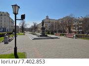 Купить «Город Кемерово. Площадь Пушкина», фото № 7402853, снято 7 мая 2015 г. (c) Цибаев Алексей / Фотобанк Лори