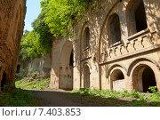 Внутренний вид старого Таракановского Форта вблизи города Дубно. Стоковое фото, фотограф Николай Полищук / Фотобанк Лори