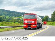Купить «Renault Premium», фото № 7406425, снято 7 августа 2014 г. (c) Art Konovalov / Фотобанк Лори