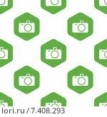 Купить «Camera pattern», иллюстрация № 7408293 (c) Иван Рябоконь / Фотобанк Лори