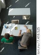 Muenchen, students at the Technical University (2007 год). Редакционное фото, агентство Caro Photoagency / Фотобанк Лори