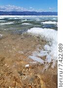Купить «Озеро Байкал весной. Таяние и разрушение льда», фото № 7422089, снято 9 мая 2015 г. (c) Виктория Катьянова / Фотобанк Лори