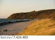 Monastery Hiddensee, Germany, beach at monastery. Стоковое фото, агентство Caro Photoagency / Фотобанк Лори