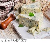 Купить «Blue cheese», фото № 7434577, снято 8 апреля 2015 г. (c) Tatjana Baibakova / Фотобанк Лори