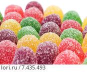 Красочные желейные конфеты. Стоковое фото, фотограф Ольга Бавыкина / Фотобанк Лори