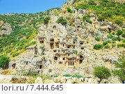 Древний город в скале в Турции (2014 год). Стоковое фото, фотограф Ирина Нуртдинова / Фотобанк Лори