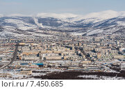 Город Магадан, зима (2015 год). Стоковое фото, фотограф Антон Афанасьев / Фотобанк Лори