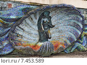 Купить «Скульптура Нимфа. Светлогорск (Раушен), Россия», фото № 7453589, снято 6 января 2013 г. (c) Сергей Трофименко / Фотобанк Лори