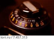 Купить «Старая фотокамера, регулятор чувствительность пленки», фото № 7457313, снято 18 мая 2015 г. (c) Владислав Осипов / Фотобанк Лори