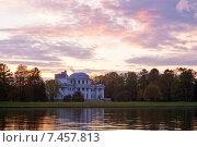 Купить «Санкт-Петербург. Елагин остров (ЦПКиО). Елагин дворец», эксклюзивное фото № 7457813, снято 17 мая 2015 г. (c) Литвяк Игорь / Фотобанк Лори