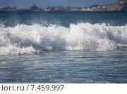 Купить «Океанская волна», фото № 7459997, снято 5 января 2014 г. (c) Юлия Белоусова / Фотобанк Лори