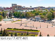 Купить «Фрагмент площади на Крепостной горе, в Ставрополе», фото № 7477461, снято 21 мая 2015 г. (c) Рожков Юрий / Фотобанк Лори