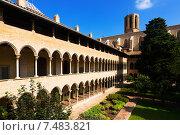 Купить «Cloister of Pedralbes Monastery», фото № 7483821, снято 26 мая 2018 г. (c) Яков Филимонов / Фотобанк Лори