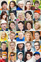 Коллаж из лиц людей разного пола, возраста и профессии, фото № 7484609, снято 2 июля 2015 г. (c) Дмитрий Калиновский / Фотобанк Лори